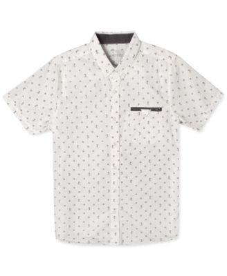 Rip Curl Men's Mixed End Short-Sleeve Shirt