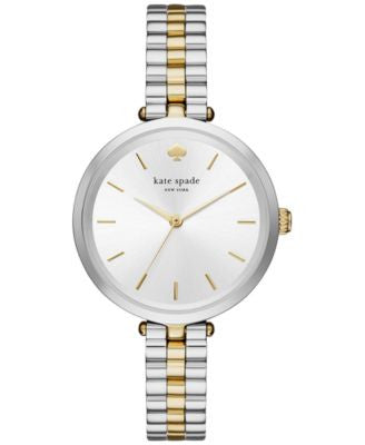 kate spade new york Women's Holland Two-Tone Stainless Steel Bracelet Watch 34mm KSW1119