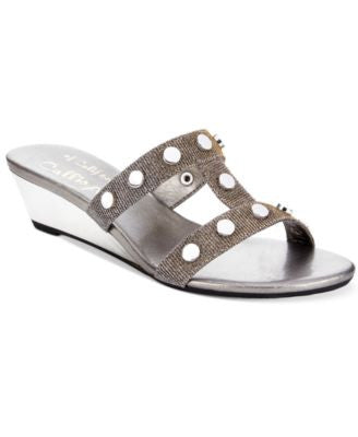 Callisto Thelma Wedge Sandals