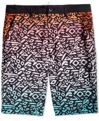American Rag Men's Ombré Abstract-Print Hybrid Shorts, Only at Vogily