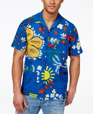 adidas Originals Men's Pharrell Williams Doodle Shirt