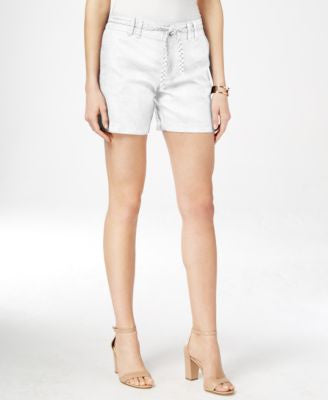 INC International Concepts Linen Belted Shorts, Only at Vogily