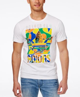 adidas Originals Men's Lost in Brazil Graphic T-Shirt
