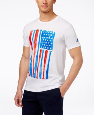 adidas Men's Flag Graphic T-Shirt
