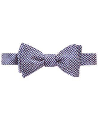 Brooks Brothers Men's Gingham Dot To-Tie Bow Tie
