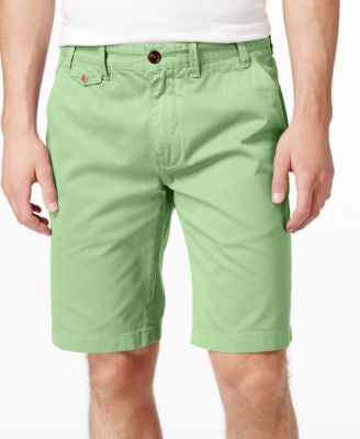 Barbour Men's Neuston Twill Flat-Front Shorts