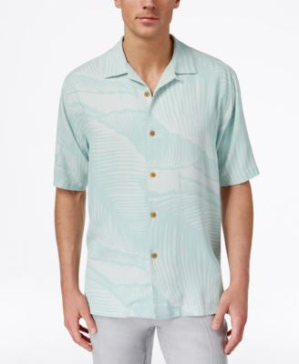 Tommy Bahama Men's Grande Fronde Silk Palm-Print Short-Sleeve Shirt, A Vogily Exclusive Style