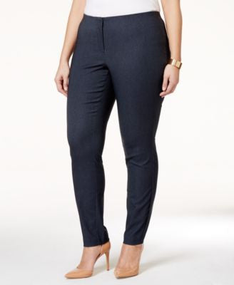 Alfani Plus Size Denim Pants, Only at Vogily
