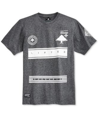 LRG Men's Bars Graphic-Print T-Shirt