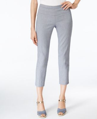 Alfani Faux Denim Capri Pants, Only at Vogily