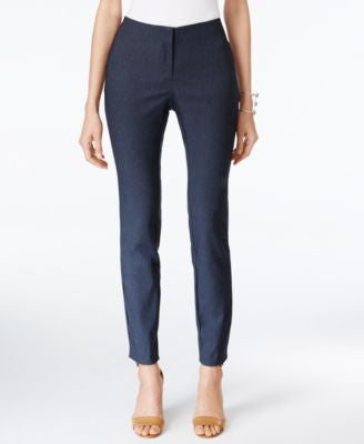 Alfani Petite Skinny Denim Ankle Pants, Only at Vogily