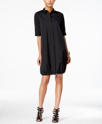 Alfani PRIMA Bungee-Hem Shirtdress, Only at Vogily