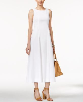 Alfani PRIMA A-Line Midi Dress, Only at Vogily