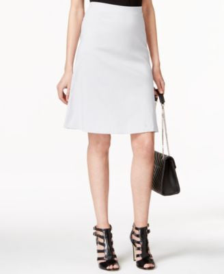 Alfani Petite Zip-Pocket A-Line Skirt, Only at Vogily