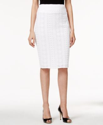 Alfani Lace Pencil Skirt, Only at Vogily