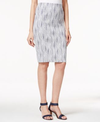 Alfani Jacquard Pencil Skirt, Only at Vogily