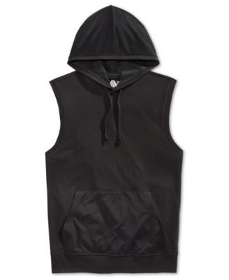 American Rag Men's Colorblocked Mesh-Hood Muscle Tank, Only at Vogily