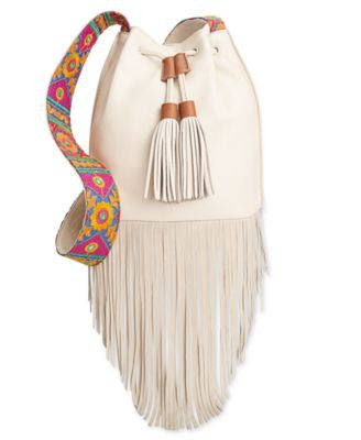 Sam Edelman Cindy Fringe Bucket Bag