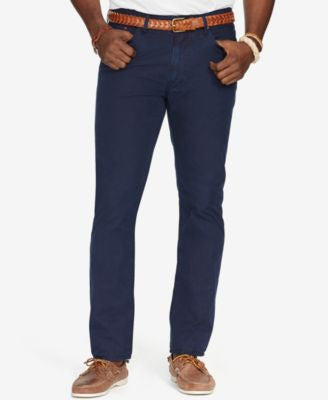 Polo Ralph Lauren Men's Big & Tall Poplin 5-Pocket Pants