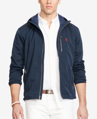 Polo Ralph Lauren Men's Big & Tall Hooded Anorak Jacket