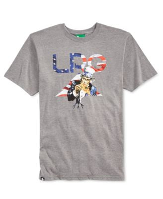 LRG Men's Big & Tall Uncle Sammy T-Shirt