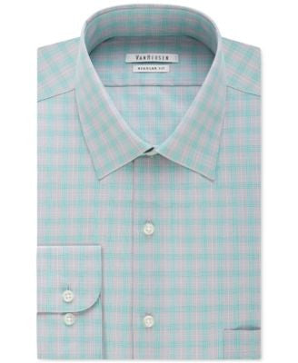 Van Heusen Men's Big & Tall Classic-Fit Arctic Plaid Dress Shirt