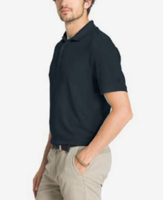 G.H. Bass & Co. Men's Big & Tall Solid Performance Polo