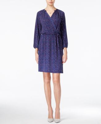 Maison Jules Dot-Print Wrap Dress, Only at Vogily