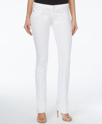 Hudson Jeans Signature Bootcut White Wash Jeans