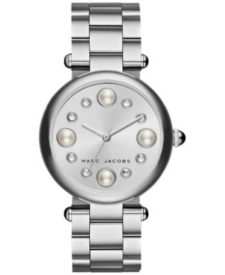 Marc Jacobs Women's Dotty Stainless Steel Bracelet Watch 34mm MJ3475