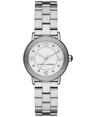 Marc Jacobs Women's Riley Stainless Steel Bracelet Watch 28mm MJ3472