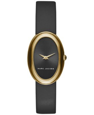Marc Jacobs Women's Cicely Black Leather Strap Watch 31mm MJ1454