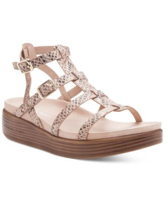 Donald J Pliner Fritz Caged Low Platform Sandals