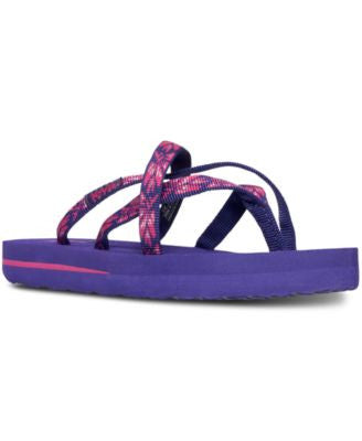 Teva Little Girls' Olowahu Flip Flop Sandals from Finish Line