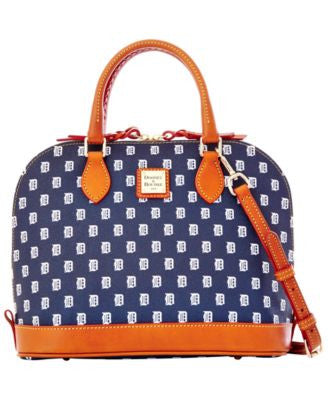 Dooney & Bourke Detroit Tigers Zip Zip Satchel