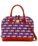 Dooney & Bourke LSU Tigers Zip Zip Satchel