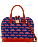 Dooney & Bourke Mississippi Rebels Zip Zip Satchel