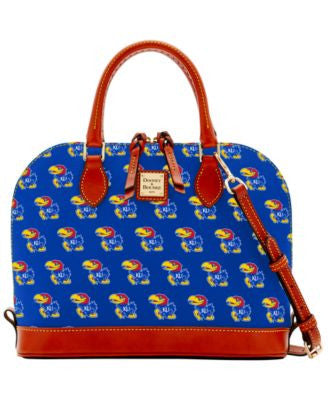 Dooney & Bourke Kansas Jayhawks Zip Zip Satchel