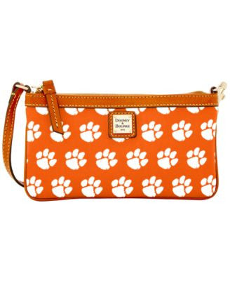 Dooney & Bourke Clemson Tigers Large Wristlet