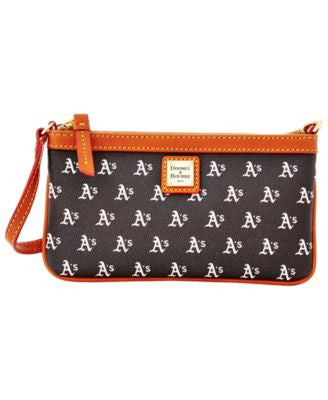 Dooney & Bourke Oakland Athletics Large Wristlet