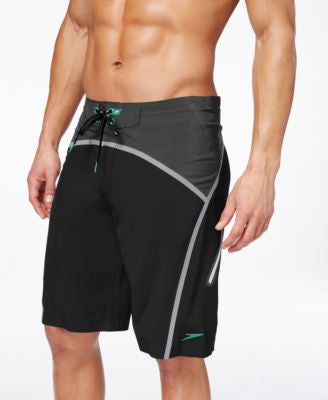 Speedo Men's Colorblocked Bonded Tech Boardshorts