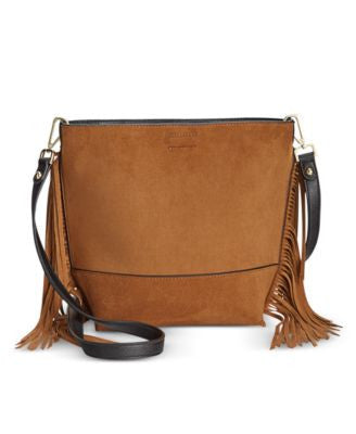 Calvin Klein Small Reversible Fringe Crossbody