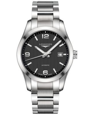 Longines Men's Swiss Automatic Conquest Classic Stainless Steel Bracelet Watch 40mm L27854566