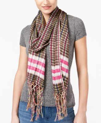 Collection XIIX Multi Woven Stripe Scarf