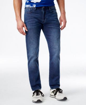 Armani Jeans Men's Slim Fit Tasche Jeans