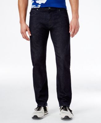 Armani Jeans Men's Tasche Slim Straight Fit Jeans