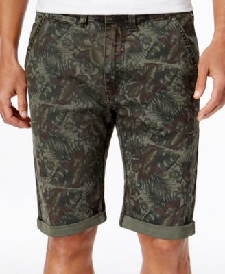 Buffalo David Bitton Men's Dean X-Printed Stretch Shorts