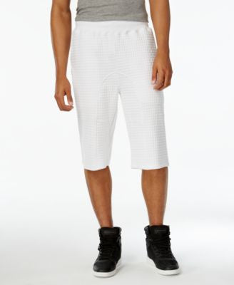 Sean John Men's Quilted Knit Shorts