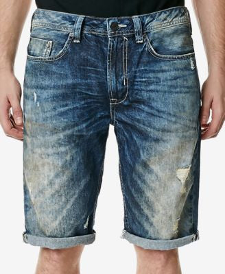 Buffalo David Bitton Men's Dean Straight-Fit Denim Shorts
