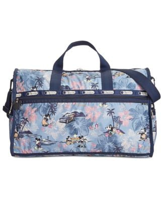 LeSportsac Mickey & Minnie Collection Large Weekender